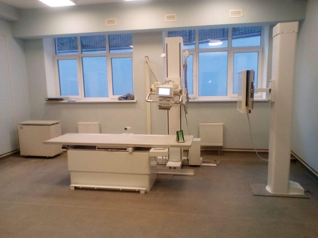 Комплекс рентгенодиагностический стационарный на два рабочих места